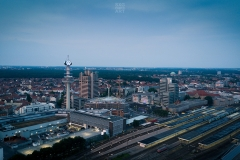 Sonnenuntergang Hbf Hannover